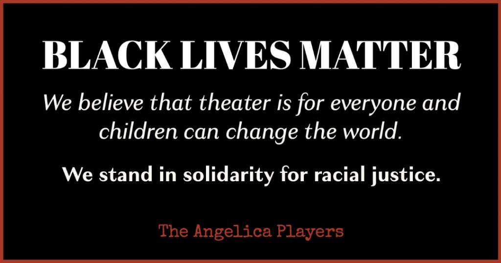 Black Lives Matter solidarity statement.